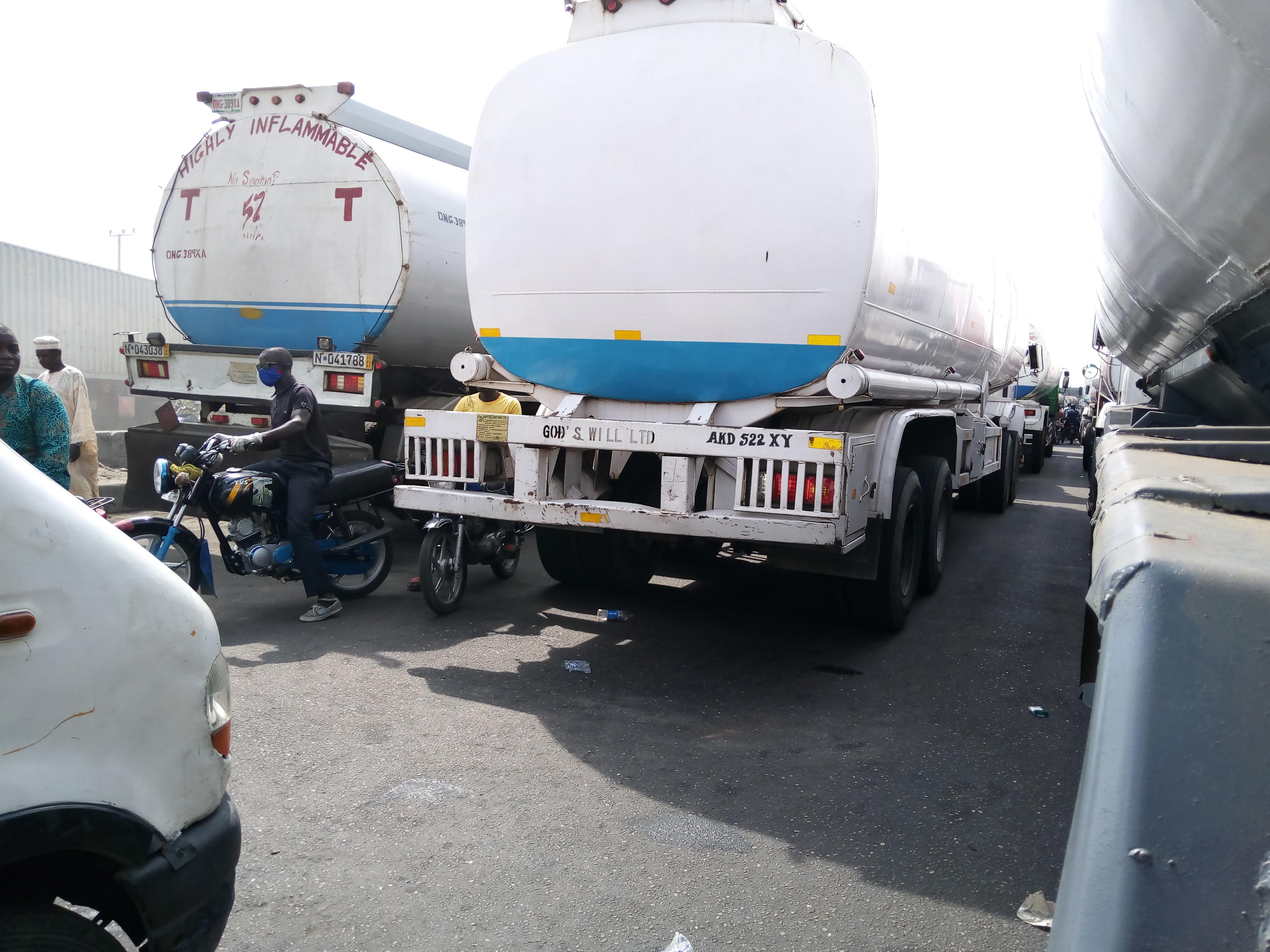 BREAKING: After FIJ's Story, Police Release Fuel Tanker from Apapa Port