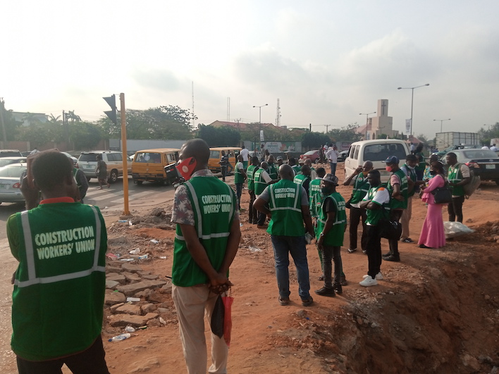 Construction Engineers Protest Against 'Impending Financial Crisis for Nigerian Workers'