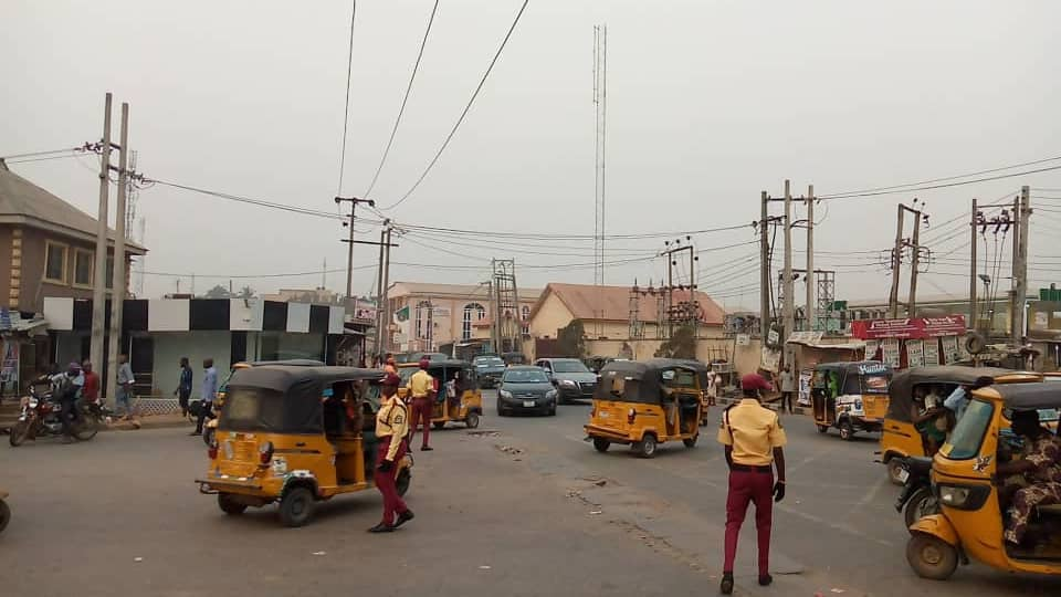 Frustrated Tricycle Rider 'Strips Naked, Fetches Cutlass' in Protest Against LASTMA