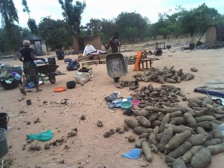 PHOTOS: Destruction, Deaths as Soldiers on Revenge Mission Raid Benue Community