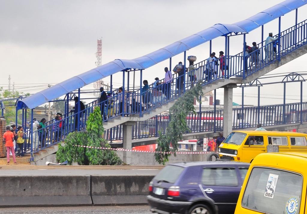 Berger Pedestrian Bridge 'Now a Full-blown Market'