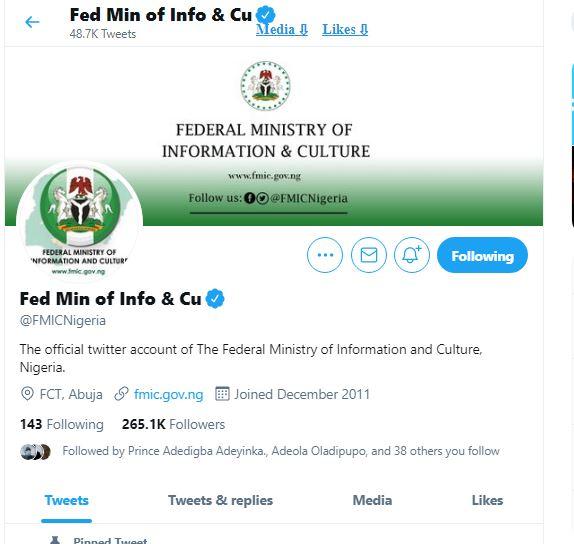 Pantami, Amaechi, Aregbesola... Top Govt Officials with Active Twitter Accounts Despite Ban