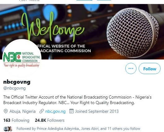OBSERVED: NBC Contravening its Own Threat to Nigerian Broadcasters