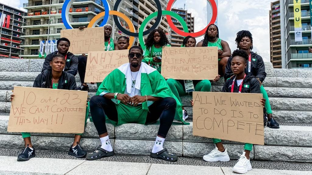 Athletes Washing Their Jerseys and 3 Other Tokyo 2020 Embarrassments for Nigeria
