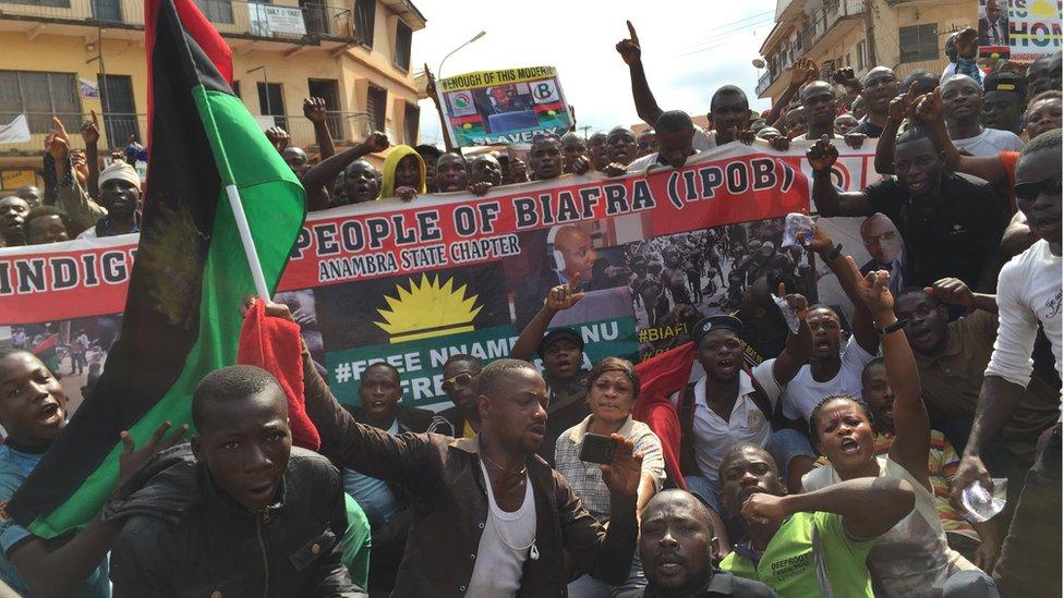 IPOB Threatens One-Month Lockdown Over Nnamdi Kanu's Hearing