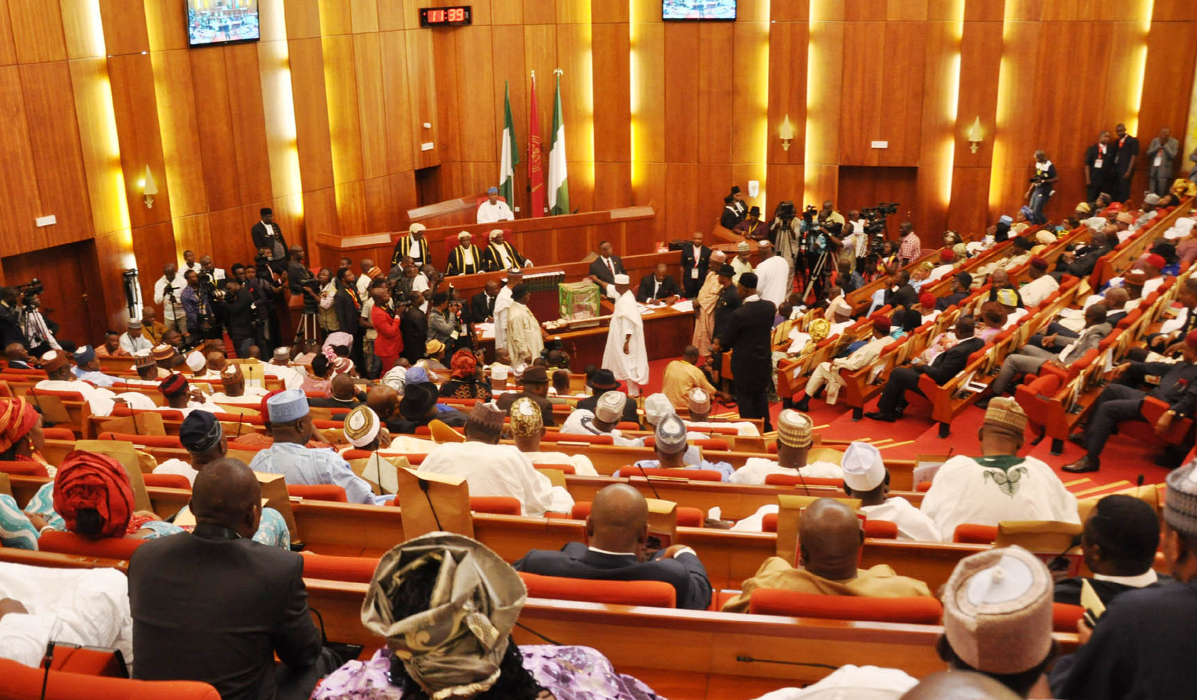 JUST IN: Senate Authorises INEC to Determine e-Transmission of Election Results